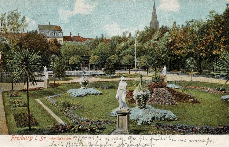 Alt freiburg herdern stadtgarten for Designhotel stadtgarten freiburg