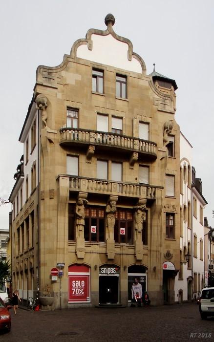 alt freiburg vom werderring zur kaiserstra e hotel w rttemberger hof l wenstra e 1. Black Bedroom Furniture Sets. Home Design Ideas