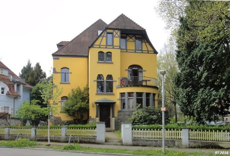 Freiburg Villa alt freiburg wiehre villa adele holbeinstraße ecke schweighofstraße